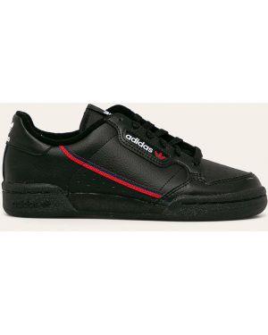 Кроссовки кожаные черные Adidas Originals