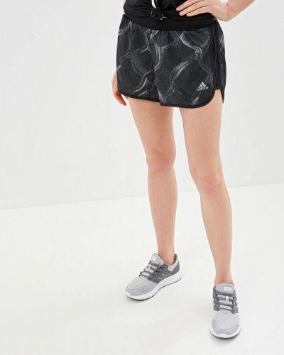 Спортивные шорты черные Adidas
