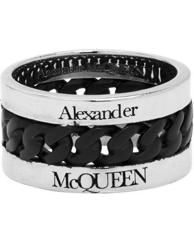 Łańcuch czarny Alexander Mcqueen