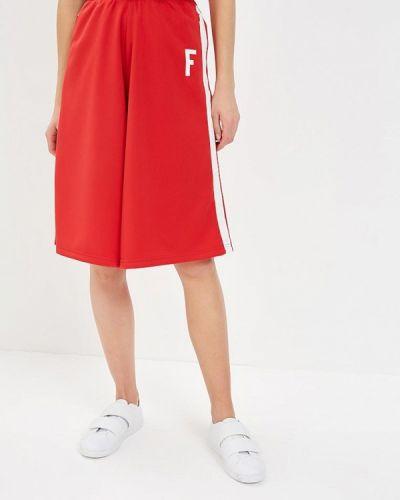 Красные спортивные брюки Franklin & Marshall