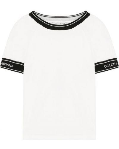Футболка хлопковая трикотажная Dolce & Gabbana