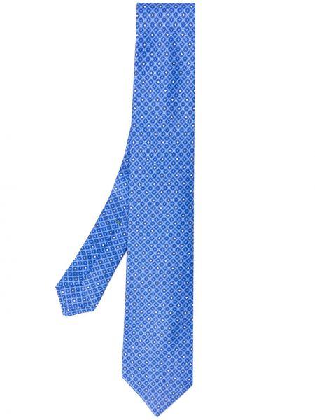 Синий галстук Borrelli