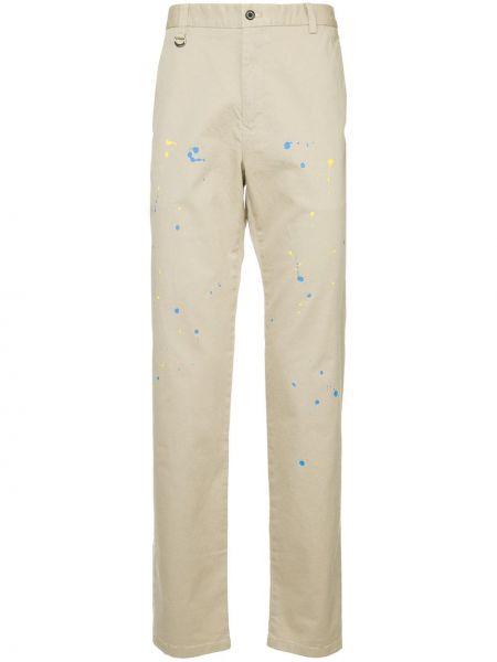 Прямые брюки с поясом на пуговицах новогодние Guild Prime