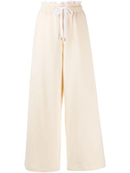 Спортивные брюки свободные с карманами Marni