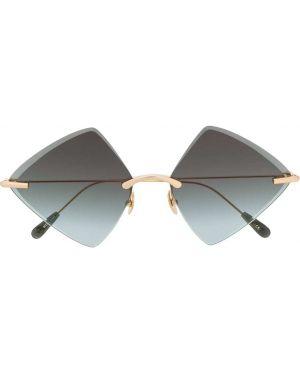 Муслиновые желтые солнцезащитные очки Kaleos