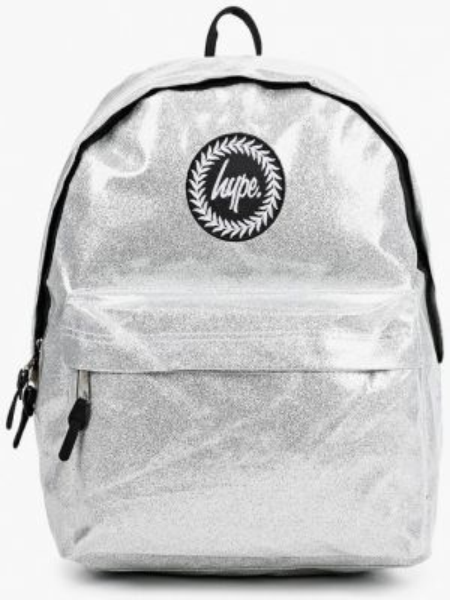 Рюкзак городской серебряный Hype