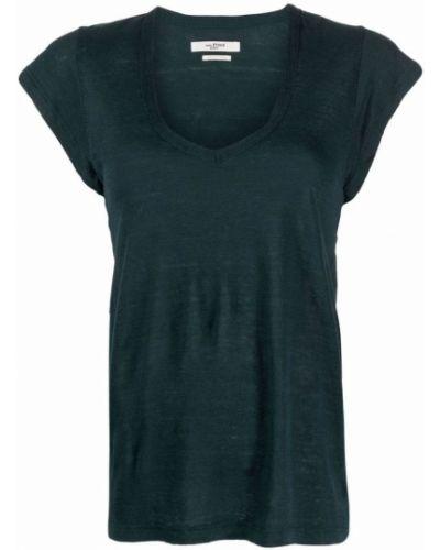 T-shirt krótki rękaw - czarna Isabel Marant Etoile
