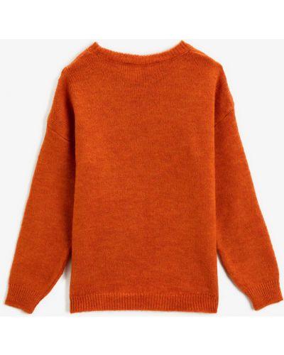 Джемпер - оранжевый Koton