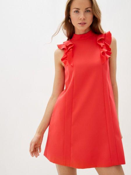 Повседневное платье красный весеннее Ted Baker London