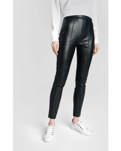 Кожаные черные брюки Ostin
