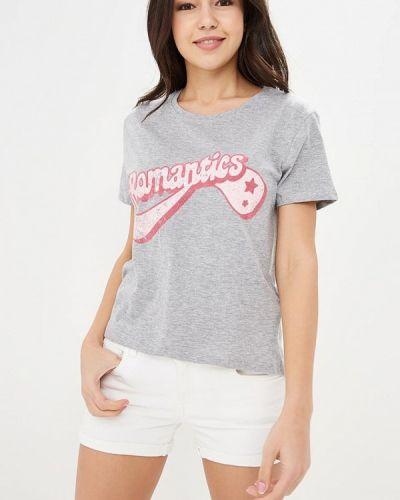 Серая футболка Jennyfer