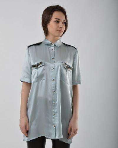 Блузка шелковая Just Cavalli