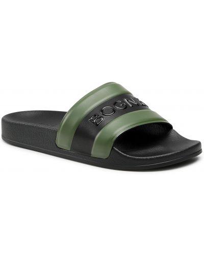 Czarne sandały casual Bogner