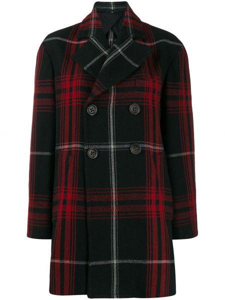 Черное длинное пальто Vivienne Westwood Anglomania