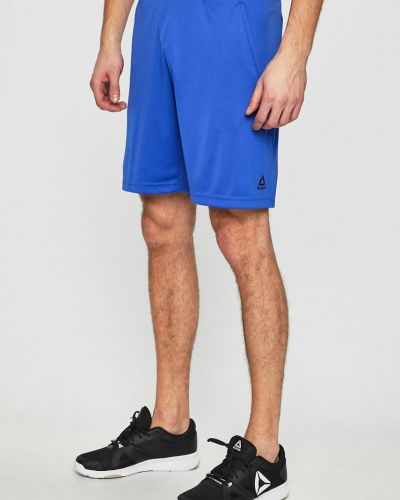 Спортивные шорты на резинке трикотажные Reebok