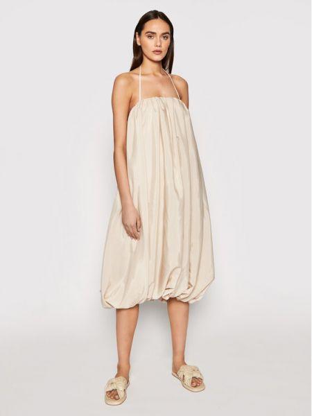 Sukienka - beżowa Na-kd
