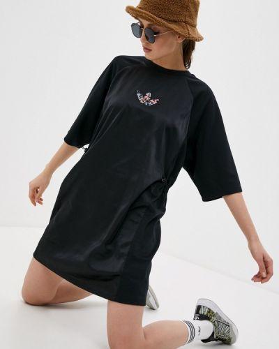 Черное платье Adidas Originals