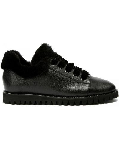 Кожаные туфли закрытые круглые Ballin