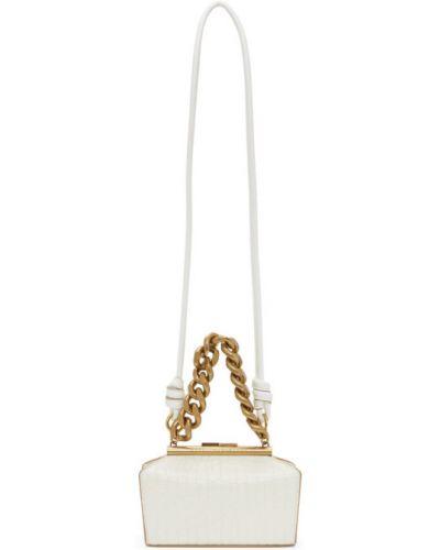 Skórzany z paskiem torba kosmetyczna wytłoczony Stella Mccartney