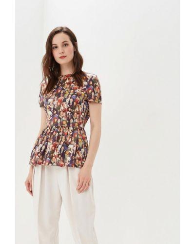 Блузка с коротким рукавом весенний Galina Vasilyeva