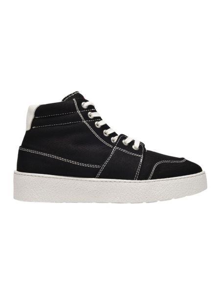Czarne sneakersy wysokie Ami Paris