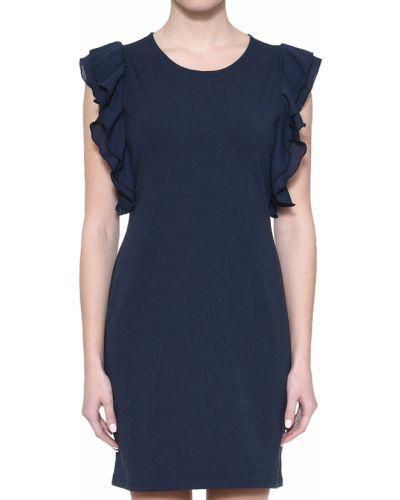 Платье весеннее синее Liu Jo
