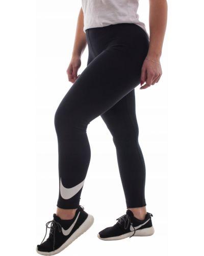 Klasyczne czarne legginsy bawełniane Nike