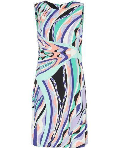 Платье из вискозы шелковое Emilio Pucci