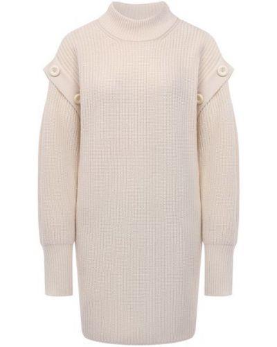 Шерстяное платье - белое Not Shy