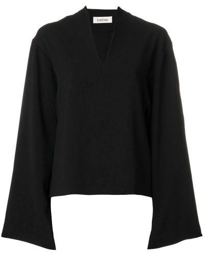 Блузка с широкими рукавами прямая Toteme