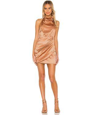 Sukienka mini dla wysokich kobiet z suwakiem Majorelle