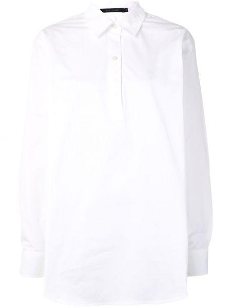 Белая рубашка с воротником свободного кроя на пуговицах Sofie D'hoore