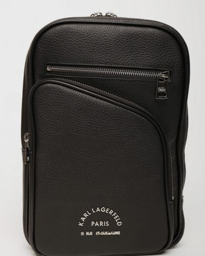 Кожаная сумка Karl Lagerfeld