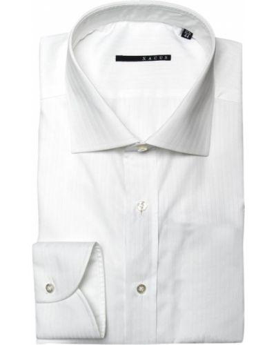 Хлопковая рубашка - белая Xacus