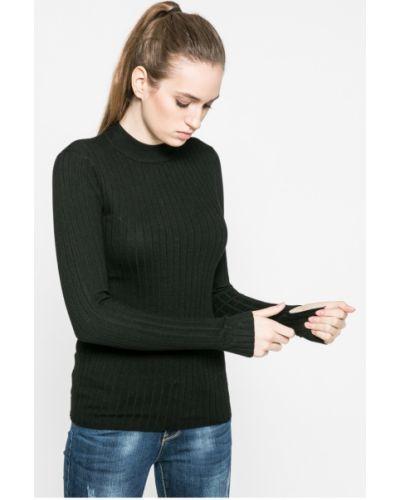 Черный свитер облегающий Broadway