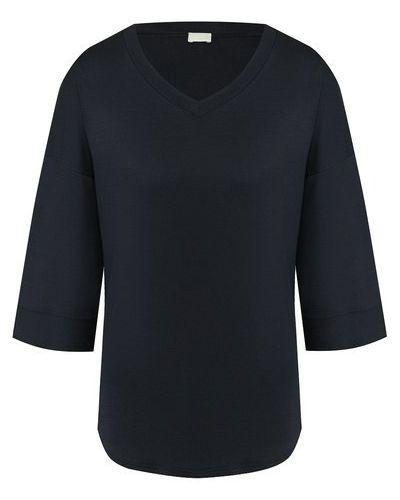 Хлопковая серая футболка Zimmerli