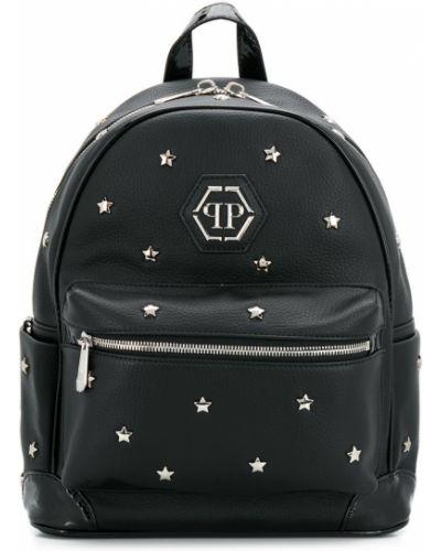 Черный рюкзак Philipp Plein Junior