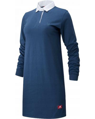 Sukienka z długimi rękawami na co dzień bawełniana New Balance
