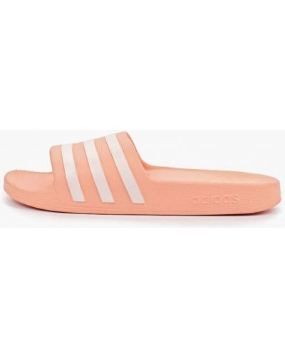 Сланцы розовый Adidas