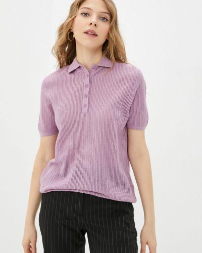 Фиолетовое поло Rodier