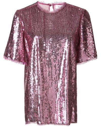 Блузка с пайетками - розовая Prabal Gurung