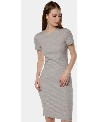 Серое платье Mr520