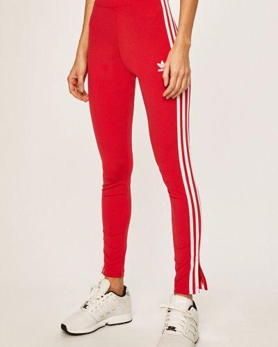 Spodnie z wzorem różowy Adidas Originals