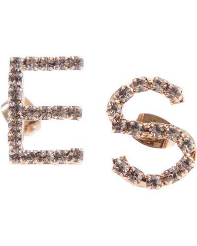 Серьги-гвоздики стеклянные Ermanno Scervino