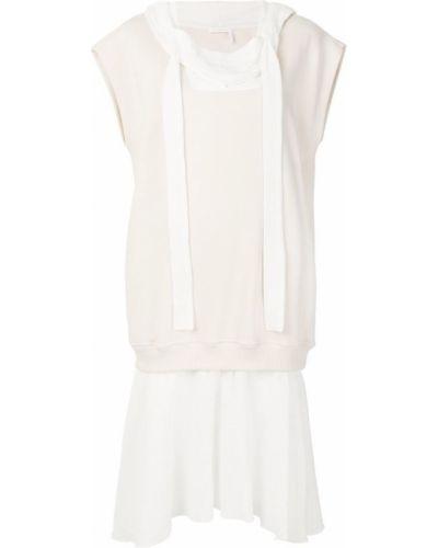 Платье миди мини с капюшоном льняное See By Chloé