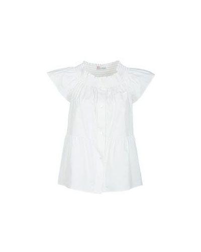 Белая блузка летняя Valentino Red