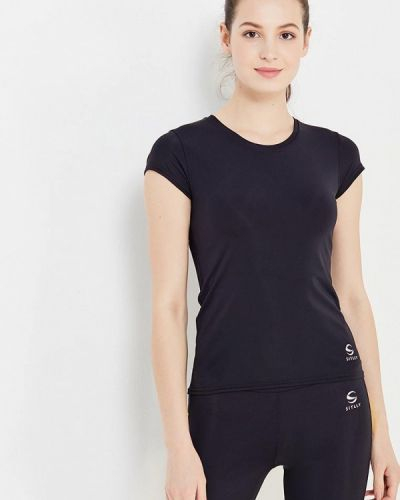 Спортивная футболка черная Sitlly