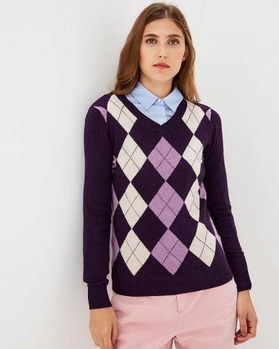 Фиолетовый пуловер 2018 Baon