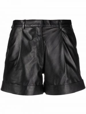 Черные шорты с завышенной талией Manokhi