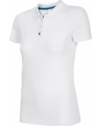 Bawełna bawełna z rękawami t-shirt 4f